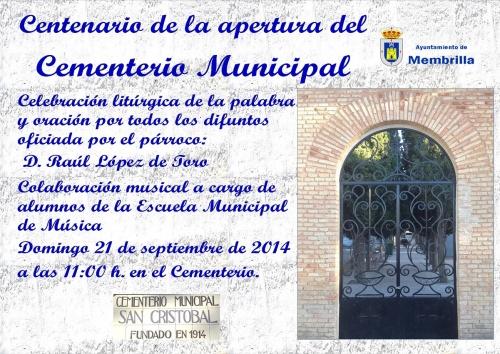 100 años del Cementerio de S. Cristobal