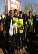 Destacada actuación de los atletas del C.A. Membrilla en el Cross del Chorizo con un total de 14 podios