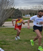 Manuel Jiménez da la talla en el Campeonato de Europa de Cross
