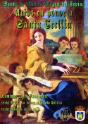 """Actos de Santa Cecilia Banda """"Virgen del Espino"""""""