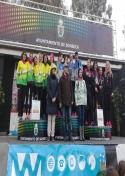 El C.A. Membrilla consigue la medalla de plata en el Campeonato Regional de Cross corto.