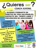 "¿Quieres ser ""coach juvenil?"