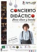 Concierto Didáctico para Clown y Banda de la Banda Juvenil de Membrilla