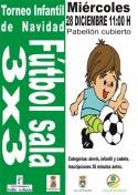Fútbol Sala 3x3. Torneo de Navidad