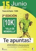 """II Carrera urbana-10k """"Villa de Membrilla"""""""