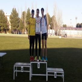 Buen arranque del campeonato provincial de pista para los atletas del C.A. Membrilla