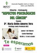 """Charla-Coloquio: """"Aspectos psicológicos del Cáncer"""""""