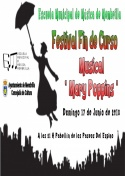 Festival Fin de Curso de la Escuela Municipal de Música de Membrilla
