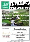 ASAM organiza ruta de senderismo: Porzuna-Alcolea de Calatrava