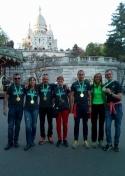 El C.A. Membrilla vuelve a ser internacional en la Maratón de París