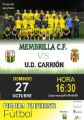 Tras un buen inicio de temporada, el Membrilla C.F. recibe al U.D. Carrión