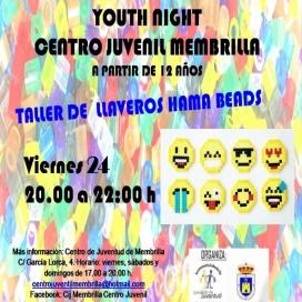 "Vuelve ""YOUTH NIGHT"" al Centro Juvenil."