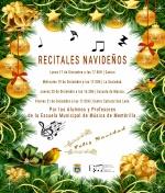 Recitales Navideños de la Escuela Municipal de Música
