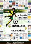 Fútbol 1ª Autonómica: El Membrilla C.F. a sumar su segunda victoria.