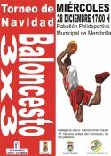 Torneo de Navidad Baloncesto 3x3