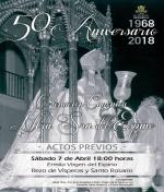 50 aniversario de la coronación canónica de Ntra. Sra. del Espino: Acto Previo