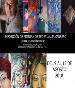 Exposición de Pintura de Teo Villalta Carrero