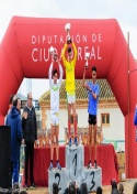 Bonito duelo entre Carlos Moraleda y Sufian L´Gouche en el campeonato provincial de campo a través.