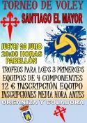 Torneo de voley Santiago el Mayor