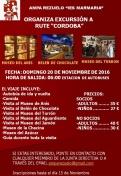 """Excursión a Rute (Córdoba) con Ampa """"Rezuelo""""."""