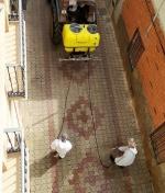 Campaña de Desinfección en Calles y Espacios Públicos de Membrilla