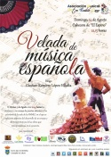 "Velada de Música Española por la Asoc.Musical ""Maestro Emilio Cano"""