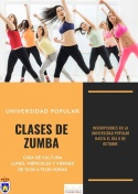 Clases de Zumba de la Universidad Popular