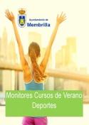Listado provisional de Monitores Deportivos Cursos de Verano