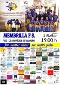 El Membrilla F.S. conquista  el Pabellón de la Cañada de Villanueva de la Fuente