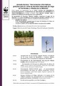 """Jornada técnica: """"Herramientas informáticas gratuitas para la  toma de decisión adecuada de riego en hortícolas y viñedos de La Mancha"""""""