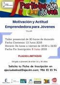 """Taller """"Motivación y Actitud Emprendedora para Jóvenes"""""""