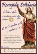 """Recogida Solidaria de la Hdad. de S. Juan Evangelista. """"Échanos Kilos"""""""