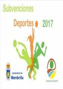 Subvenciones Deportes 2017