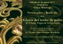 Presentación de la Gloria del Palio de la Stma. Virgen de La Esperanza