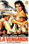"""Emisión de la película """"La Venganza"""" en La 2 de RTVE."""