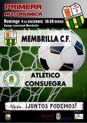 Membrilla C.F.: A ganar al  At. Consuegra.