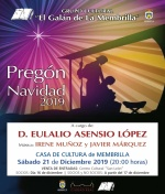 "Pregón de Navidad 2019 del Grupo Cultural ""El Galán de la Membrilla"""