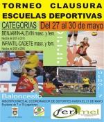 Torneo de clausura de las Escuelas Deportivas