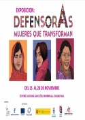 Exposición: DefensorAs Mujeres que transforman