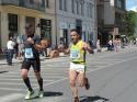 Narciso Arroyo representa al C.A. Membrilla en la Maratón de Praga.
