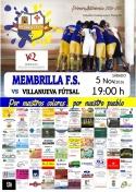 Membrilla F.S.- Villanueva Fútsal.