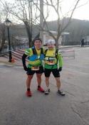 Buena actuación de Juan Cano y Ángel Losa en la media maratón vertical Trail La Sarga