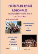 Festival de Bailes Regionales el próximo domingo.