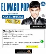 """Ven al espectáculo del Mago Pop con la """"A.M. S. Juan Evangelista"""""""