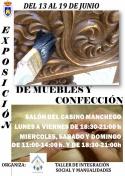Exposición de Muebles y Confección del Taller de Integración social y Manualidades