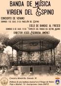 """Concierto de Verano de la Banda """"Virgen del Espino"""""""