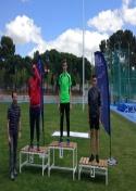 Siguen los buenos resultados para los integrantes del Club Atletismo Membrilla en el campeonato regional de Pista al Aire libre.