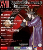 XVIII Festival de Saetas y Flamenco