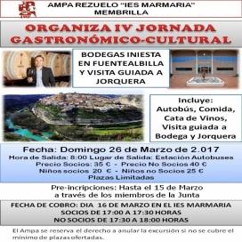 IV Jornada Gastronómica-Cultura, visita a la Bodega de Iniesta