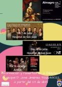 La Concejalía de Cultura del Ayuntamiento de Membrilla nos acerca al Festival de teatro clásico de Almagro
